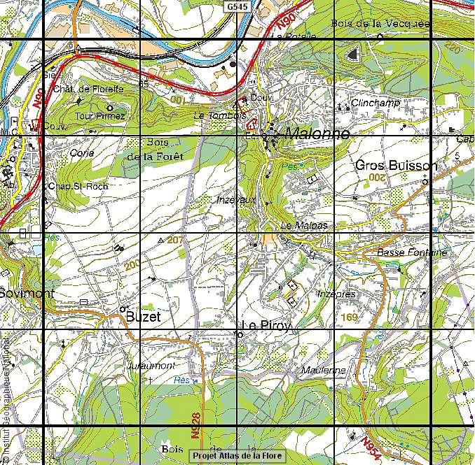 BD Atlas Flore Echantillonnage Dun Carr IFBL 4x4